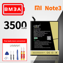 High capacity 3400mAh lithium polymer battery mi note 3 battery bm3a bm34 bm21 Original replacement battery стоимость