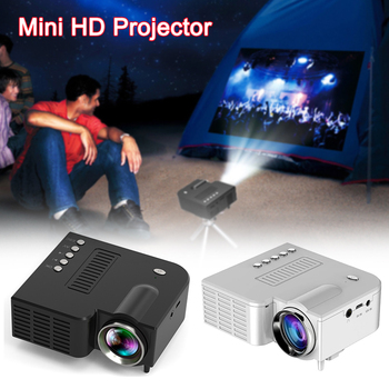 Mini Portable LED Projector 1080P Home Cinema Theater Video Projectors USB for Mobile Phone VDX99 byintek rd804 dvbt2 atv 1280x800 digital cl720 wxga 1080p video lcd portable home theater hdmi hdtv usb video led hd projector