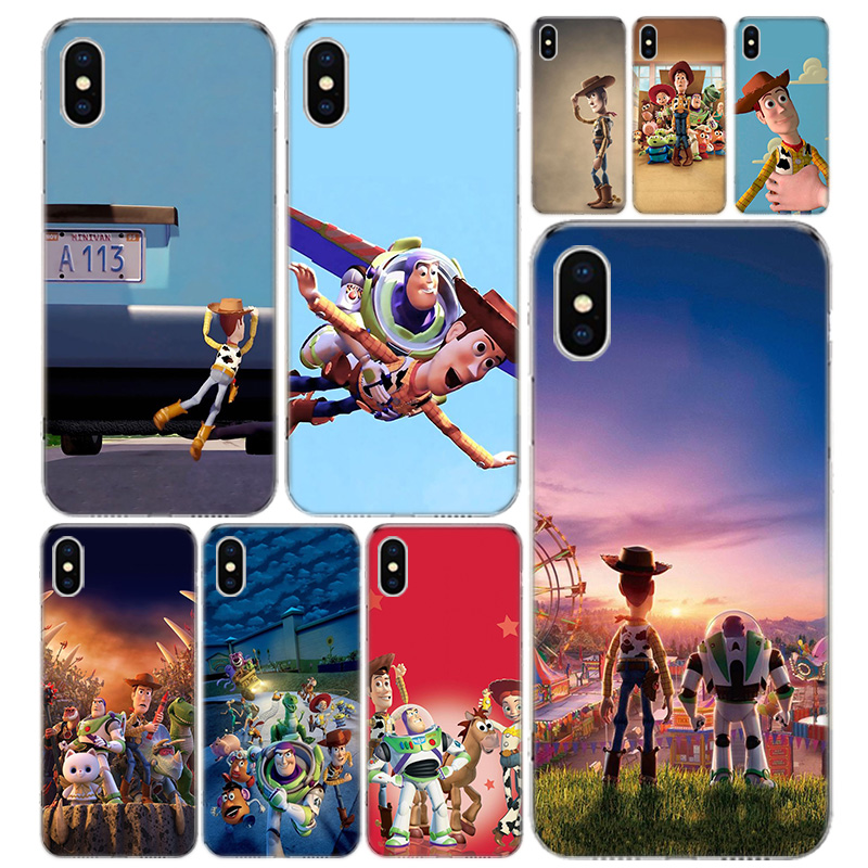 <font><b>Toy</b></font> <font><b>Story</b></font> Phone Case Cover For <font><b>iPhone</b></font> 11 Pro 7 <font><b>6</b></font> X 8 6S Plus XS MAX + XR 5S SE 10 Ten Art TPU Coque <font><b>Capa</b></font> Shell image