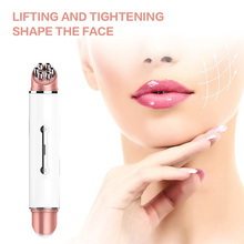 Facial Wrinkle Vibration Beauty Instrument Ultrasonic eye Massager Anti-aging Wrinkle Device Slimming Removal Skin Care tool thermo color ion introduction eye massager electric eyes care device lips beauty instrument anti aging wrinkle massage tool