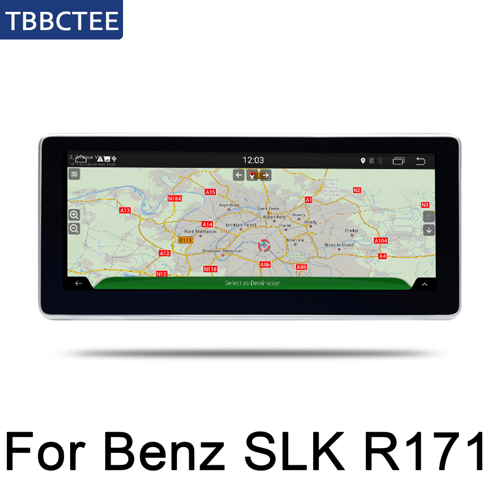 For <font><b>Mercedes</b></font> <font><b>Benz</b></font> <font><b>SLK</b></font> Class <font><b>SLK200</b></font> SLK280 2010~2018 Car multimedia Android Autoradio Car Radio GPS player WiFi Mirror link image