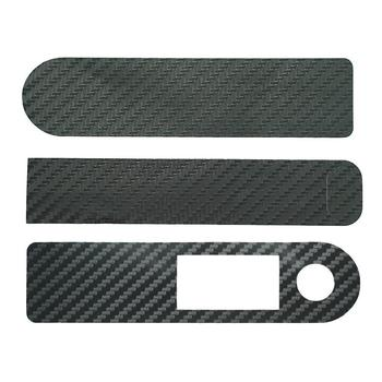 Black Scooter Central Controller Protective Film Carbon For Xiaomi Scooter Electric Sticker M365 PVC Pro Accessories Fiber W8E8 image