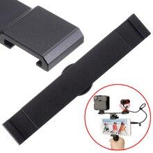 1pc Double Hot Shoe Mount Extension Bar Black Dual Flash Bracket For Micphone LED Night DSLR Camera 13.9 x 2.2 x 0.3cm цена