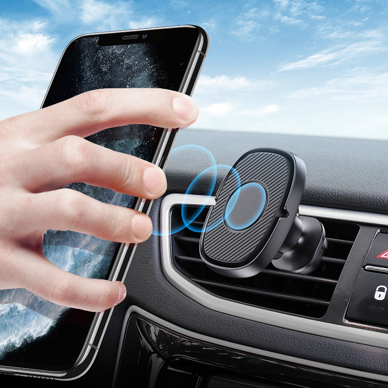 Lovebay Air Vent Mount Car Phone Holder Stand Magnetic Plastic GPS Mobile Phone Universal Stand For Iphone Samsung Huawei Xiaomi
