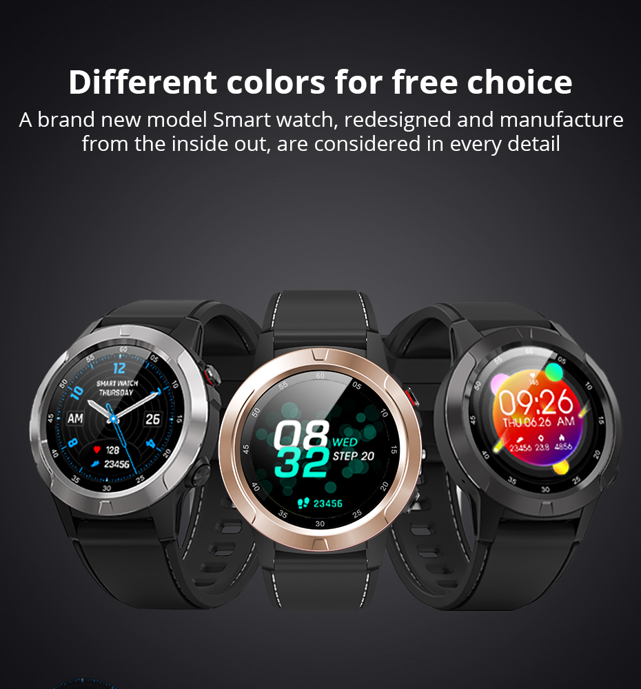 Makibes G58 Smart watch Compass Multi-language GPS Men Sport Heart Rate Monitor Call Message Reminder Activity Fitness trackerG58_11