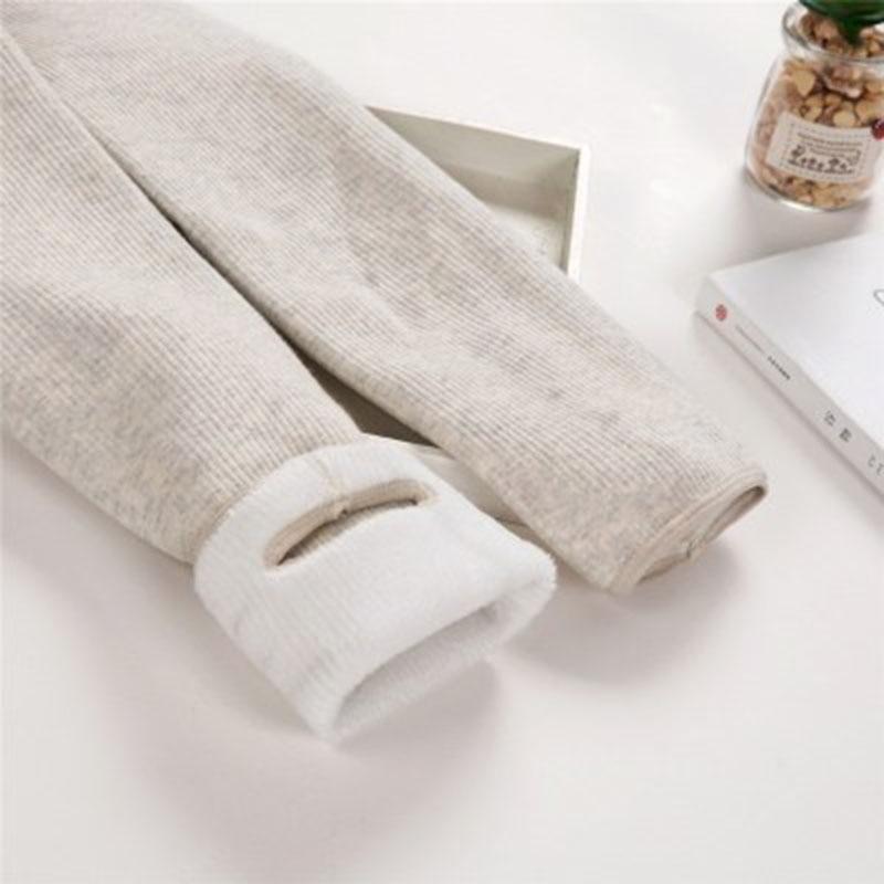 Autumn/Winter Women Plus Velvet Thick Leggings High Quality Fashion Comfortable Legging Pants Casual Solid Color Leggings