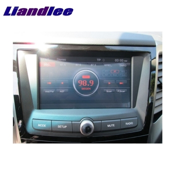 For SsangYong Tivoli 2015~2019 LiisLee Car Multimedia TV DVD GPS Audio Hi-Fi Radio Original Style Navigation Advanced NAV INAVI image