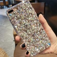 Super Bling Crystal Diamond Case Cover For Xiaomi Redmi 5 6 4X 4A 6A 7A 8A 9A Note 4 5 6 7 8 9 Pro 4X 5A Rhinestone