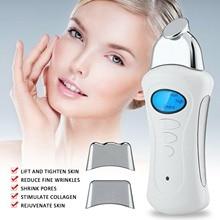 Handheld Galvanic Spa Nu Electroporator Skin Tightening Face Lift Microcurrent Facial Machine Galvanic Current Device Skin Care