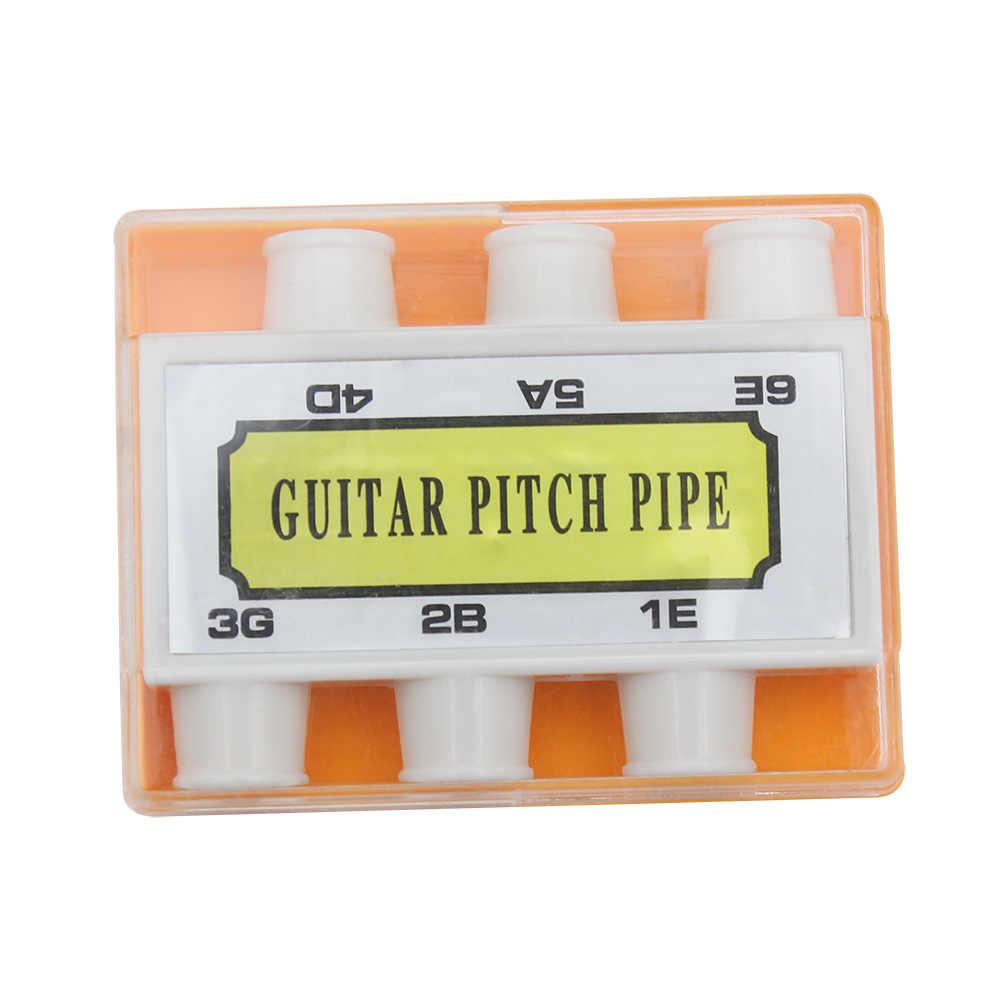耐久性のある弦ピッチパイプ E/A/D/G/B/E ギター楽器パーツ