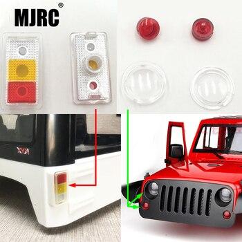 Подходит для 1/10 симуляции скалолазания автомобиля JEEP SCX10II осевой 90046 90047 313 мм колеса жесткий корпус Wrangler универсальная светодиодная чашка