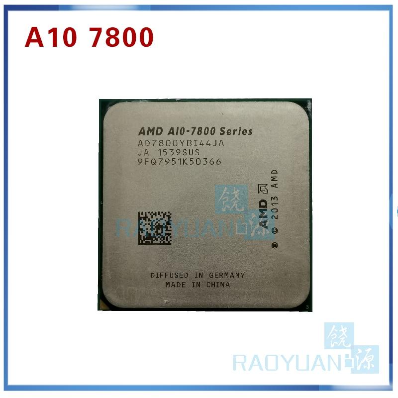 AMD A10-Series A10 7800 A10-7800 3.5GHz Quad-Core CPU Processor AD7800YBI44JA / AD780BYBI44JA Socket FM2+