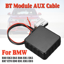Cable-Adapter Audio-Radio Car Bluetooth AUX AUX-IN Stereo 12V for BMW E60-e66/E70/E82/..
