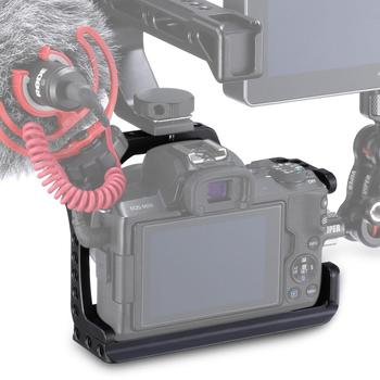 C-M50 Metal Camera Rabbit Cage For Canon M50 Camera With Hot Boots Cold Boots Dog Cage Expansion Camera Cage Accessories