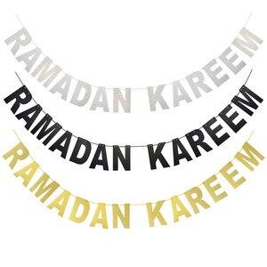 Image 4 - 10/20 Chiếc Happy EID Mubarak Vàng Bạc Đen Kẹo Hộp Giấy Ramadan Món Tráng Miệng Bánh Quán Quân Hồi Giáo Hồi Giáo EID trang Trí Tiệc Tiếp Liệu