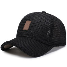 Mesh Baseball Cap Golfs Trucker Hat Breathable Snapback Visor Mesh Plain for Outdoor H9(China)