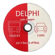 Delphis-herramienta de diagnóstico Ds150e para coche, escáner obd2 con Bluetooth 2017.R1 R3, OBD, VCI, vd, nuevo, envío CD con funda DS150E