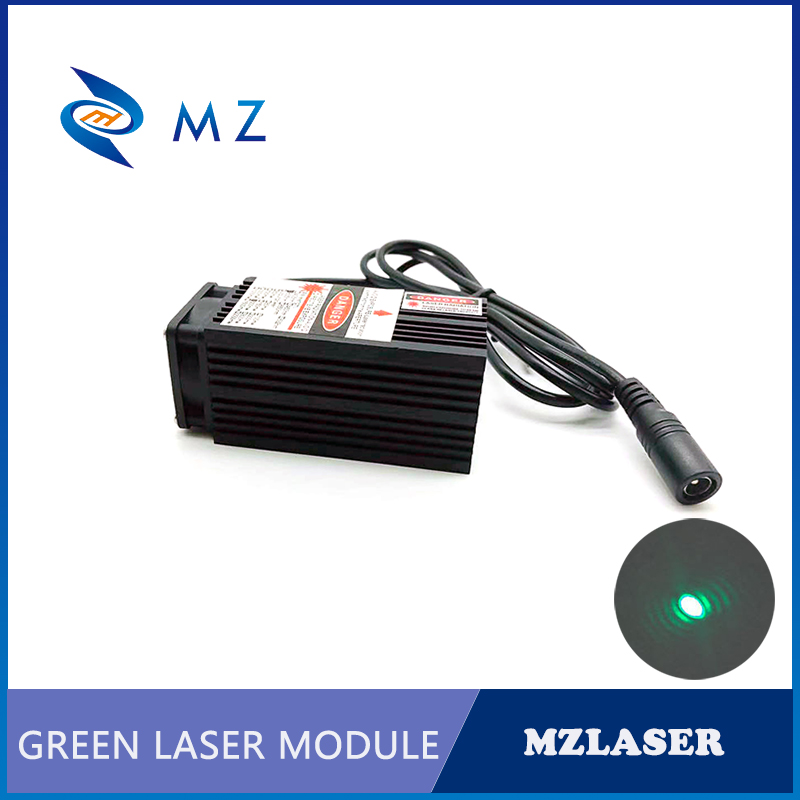 520nm With Thin Beam 300mw 500mw 1w Green Dot Laser Module For Room Escape/ Maze Props/ Bar Dance Lamp