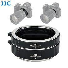 Jjc 11ミリメートル16ミリメートル自動延長レンズチューブ用zマウントZ5 Z7 Z6 Z50カメラレンズアダプタリングとレンズキャップ
