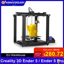 Creality Ender-5/Ender-5 Pro 3D Printer DIY Kit 220*220*300mm Build Volume with Upgrade Silent Motherboard PTFE Tubing Extruder(China)