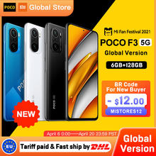 Global Version POCO F3 5G 6GB 128GB Smartphone Snapdragon 870 Octa Core 6.67