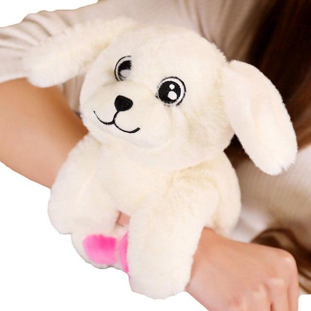 Newborn Bed Rattles Infant Baby Soft Cartoon Animal Plush Toys Children Plush Doll Wrist Kids Toy Hand Wrist Strap