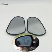 Cafoucs lh rh リアビュミラーガラスを加熱日産ティアナマキシマセフィーロセントラ J31 2004 2005 2006 2007