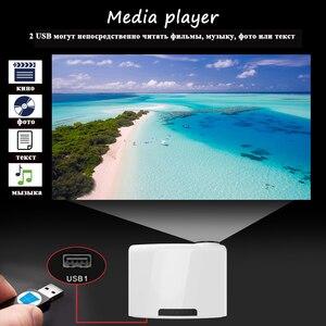 Image 4 - Touyinger s1080 C2 full HD 1080p LED digitals proiettore home cinema cinema 200 pollici schermo con 4D Keystone