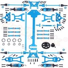 Juego completo de piezas de mejora para Buggy Wltoys A959 Vortex 1/18 2,4G 4WD, coche eléctrico a control remoto, Buggy todoterreno, Buggy Hop Up, A969 a979