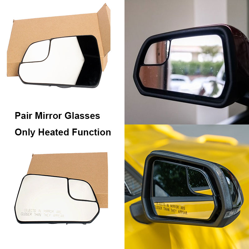 AM Left,Right Pair DOOR MIRROR For Ford Mustang