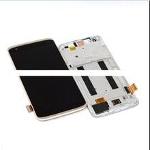 Полный ЖК дисплей для ZTE Axon Mini B2016, экран 5,2 дюйма + дигитайзер, сенсорная панель, Сменный стеклянный датчик в сборе с рамкой