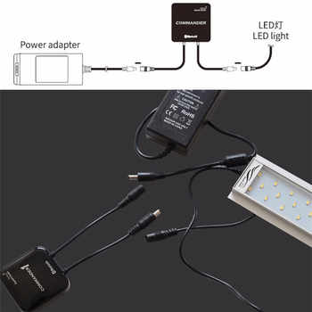 Chihiros Commander 1 Commander 4 Bluetooth App Control LED Light Dimmer Controller Modulator For Aquarium Fish Tank