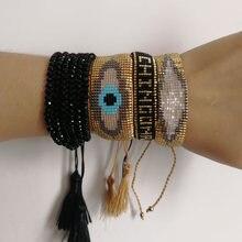 Женский браслет с бусинами shinus boho miyuki Турецкий Дурной