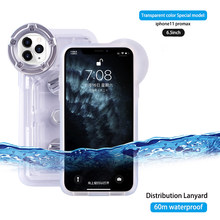 Swimming Diving Case For phone 6 7 8 Plus XS MAX XR Universal Cover Underwater Cell Phone Bag(China)