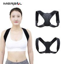 Postura corrector volta cinta ajustável clavícula apoio ombro alívio da dor postura trem coluna postura suporte corretor macio