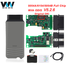 High Quality Full OKI Chip 5054A ODIS 5.2.6 5054A 6154 OBD2 WIFI Bluetooth Scanner OBD 2 OBD2 Car Diagnostic Auto Tool Hot Sale