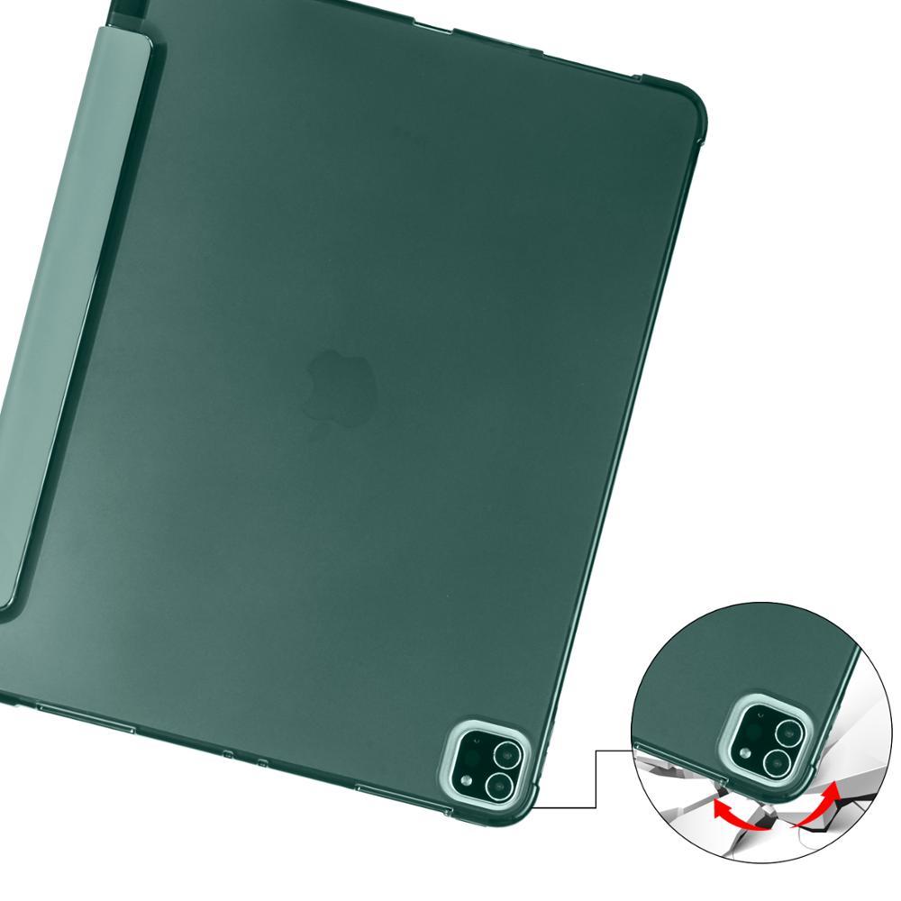 Case for iPad Pro 11 2020 A2228 A2231 A2068 A2230 Case Multi Fold PU Leather Smart