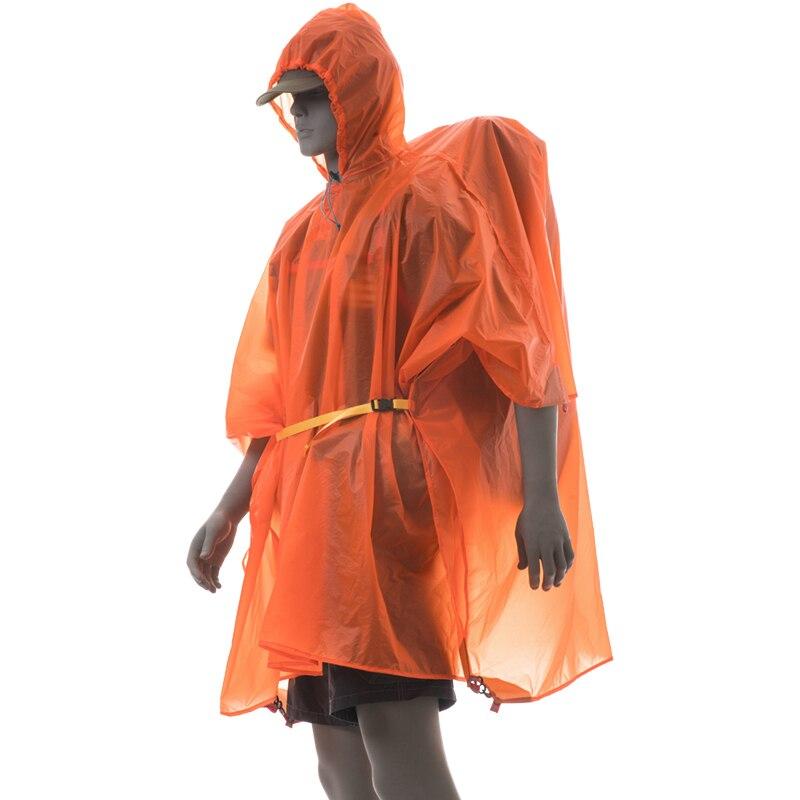 Regenmantel Regenponcho Regenschutz im Freien wasserdichte Bodenmatte Plane