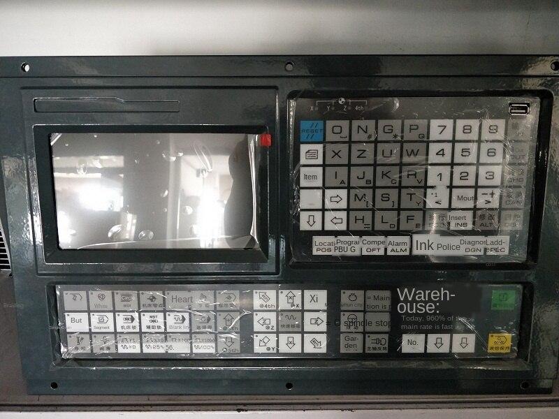 Podwójne 3/4/5 osi CNC tokarko-frezarka krokowy System serwosilnik z zamkniętą pętlą automatyczny montaż kontrolera rozmiar 420x260