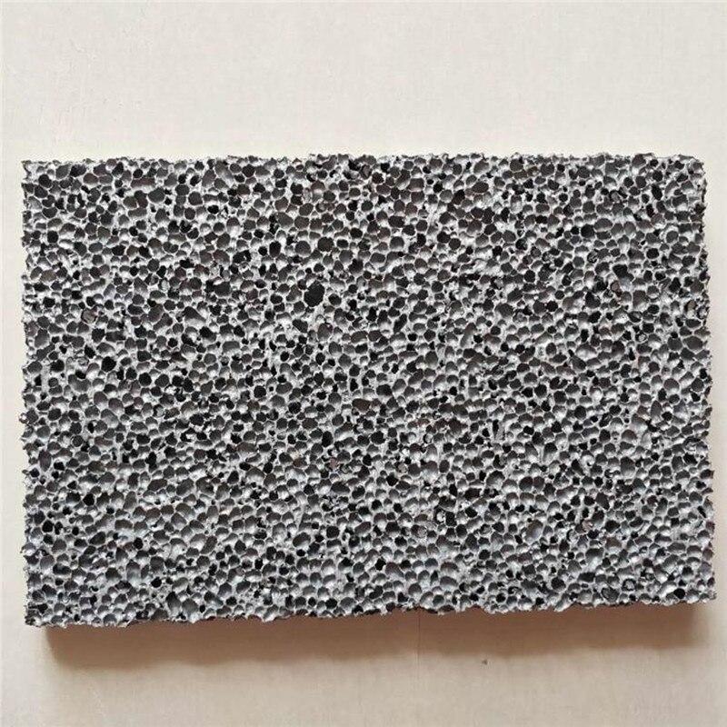 Подгонянная пена алюминиевая декоративная амортизирующая Звукопоглощающая доска 10 мм Толстая пена алюминий
