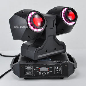 Image 5 - TIPTOP 2 X 30W New Club Beam Led Moving Head Light DMX512 Control Dual 30W LED Tyanshine with Halo RGB 3IN1 Hanging Clamp Hole