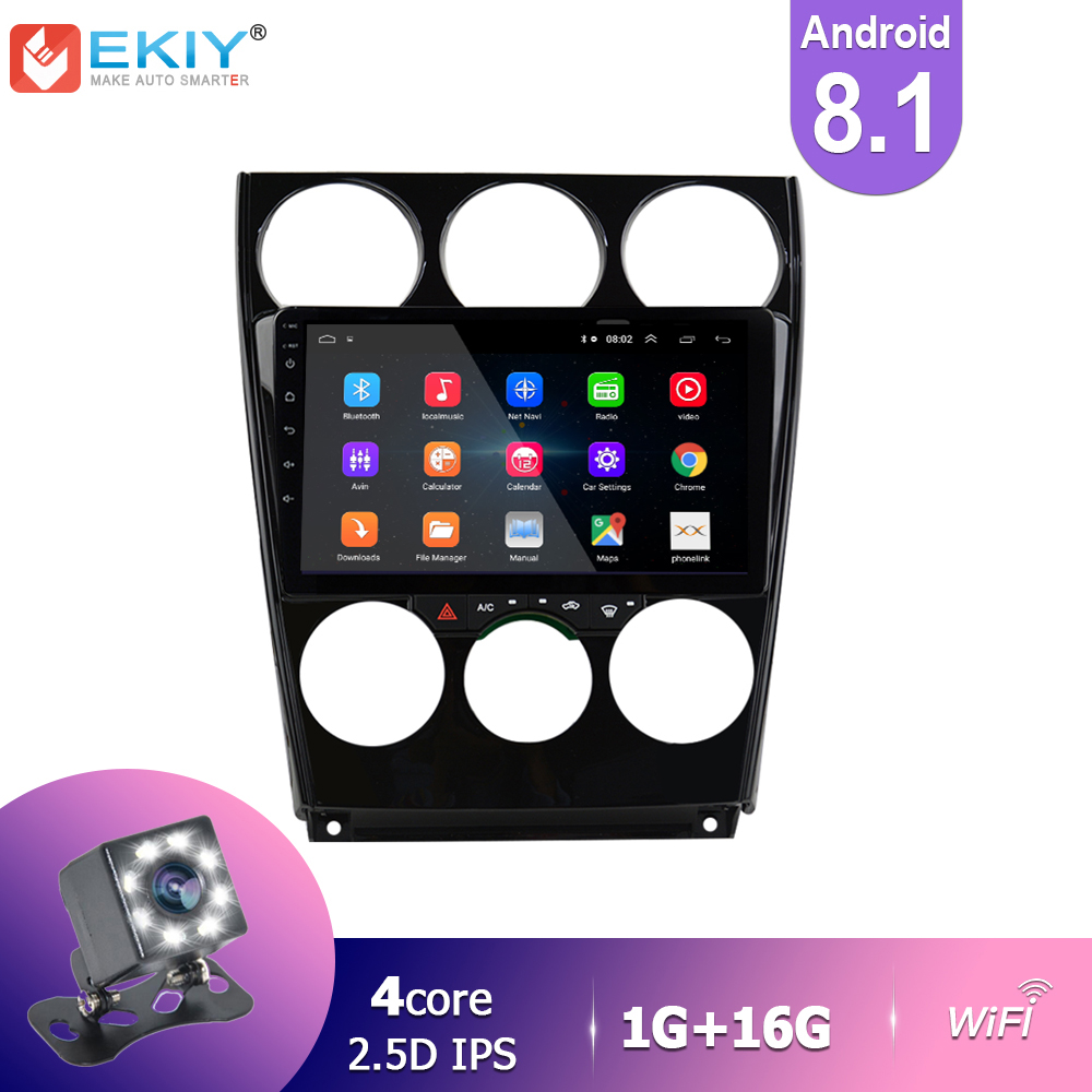 EKIY IPS Android 8.1 Car Radio For <font><b>MAZDA</b></font> <font><b>6</b></font> 2006-2013 Stereo Multimedia Video Player <font><b>GPS</b></font> Navigation BT Wifi Automativo No 2Din HU image