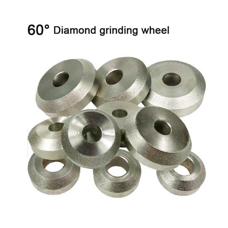 60 градусов клапан алмазные шлифовальные круги для мотоцикла автомобиля Двигатель клапан ремонт сиденья