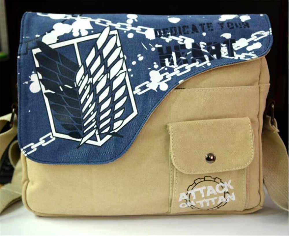 Fairy Bunny Canvas Messenger Bag