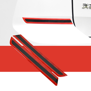 Car Anti-Collision Strip, Wheel Eyebrow Reflective Stickers, Body Door Anti-Scratch Stickers, Decorative Strips 3 5 4 5 5 5cm 150cm car wheel eyebrow car wheel arch protection mold anti collision fender car stickers