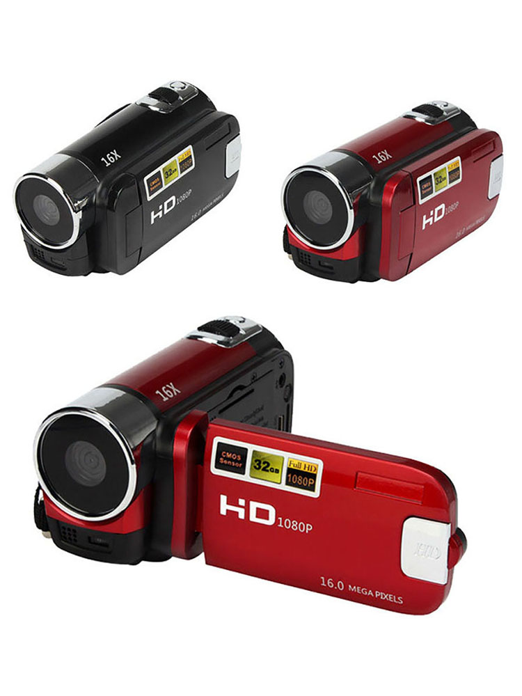 Video-Camera Digital-Camcorder Rotation Professional Full-Hd 1080P FHD 16MP 270-Degree
