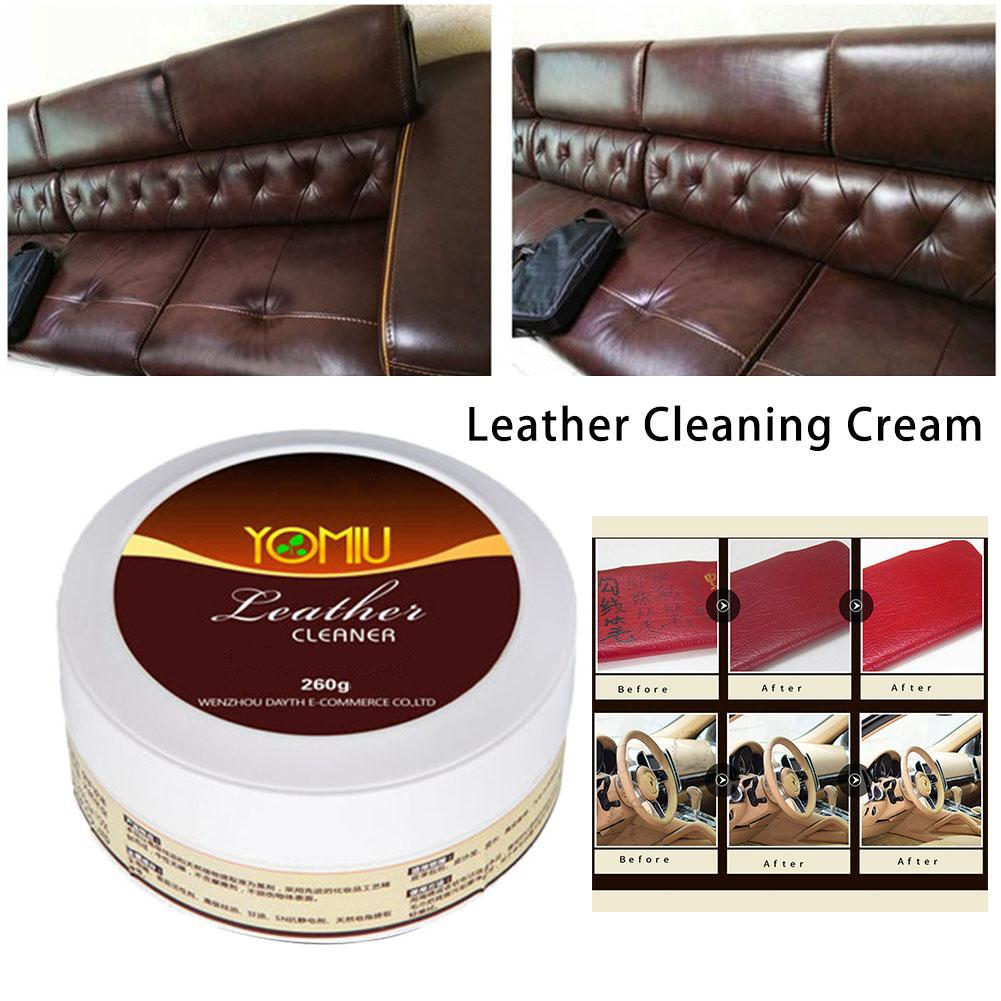 Leather Refurbishing Cleaner Car Seat Sofa Leather Cleaning Cream All-Purpose Leather Repair Tool image