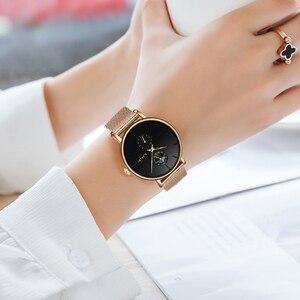 Image 4 - ליגע חדש נשים יוקרה מותג שעון פשוט קוורץ גברת עמיד למים שעוני יד נשי אופנה מזדמן שעונים שעון reloj mujer 2020