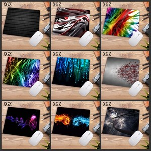 XGZ Colorful Cool Abstract Mousepad Gaming Mouse Pad Desk Mat Keyboard Computer Padmouse Laptop Play Mats Size 18x22cm Promotion