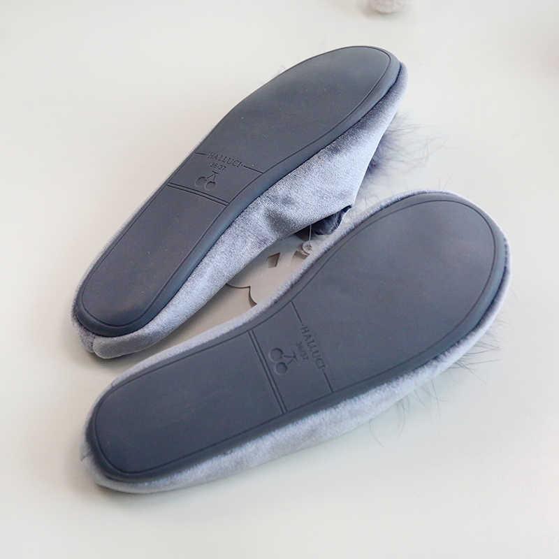 Dropshipping lindas zapatillas de mujer para el hogar zapatos de Casa de mujer de verano
